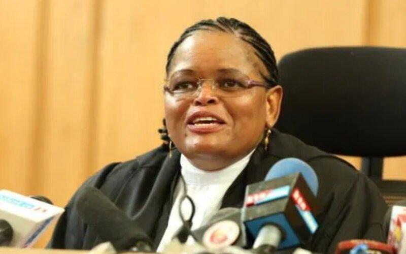 Lady Justice Martha Karambu Koome kuthuurwa atwika jaji munene wa Korti        Kenya.
