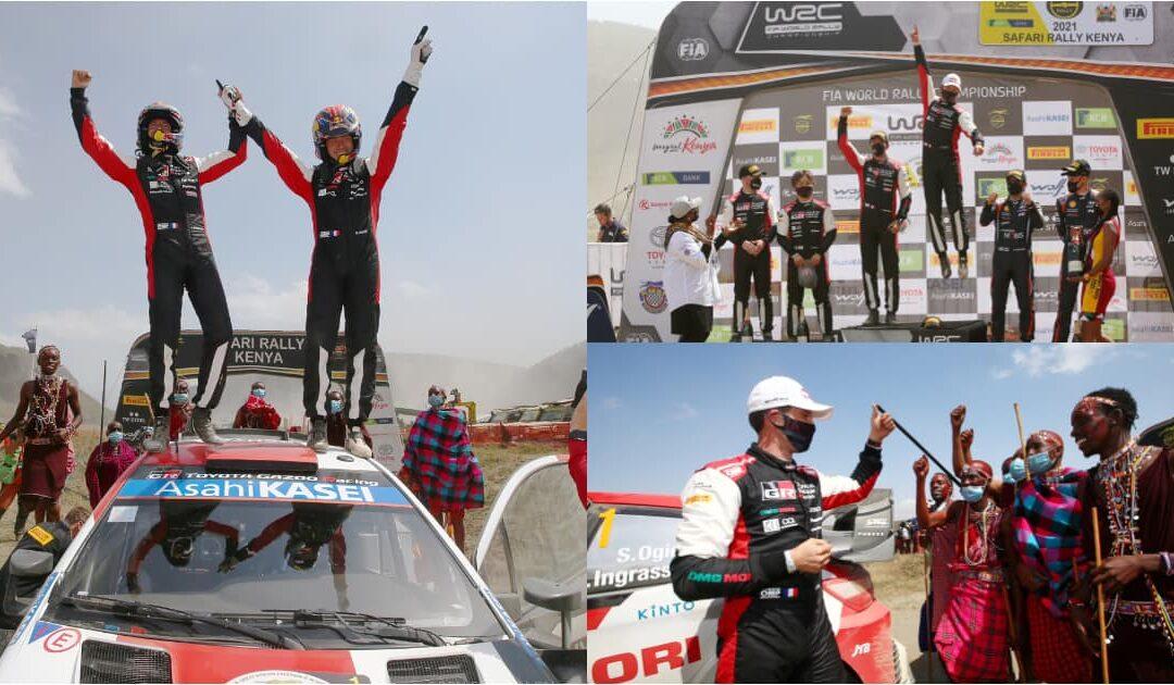 Macindano ja Safari Rally.