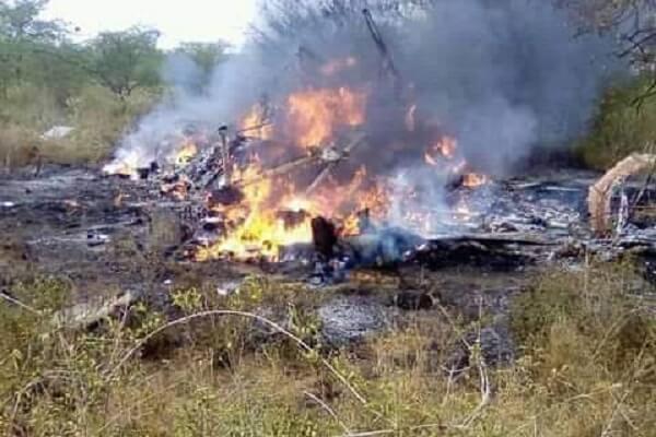 Mutino jwa ndege ya Kenya Airforce.