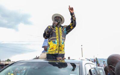 Ndiunga ya Raila Odinga Kaunti ya Meru.