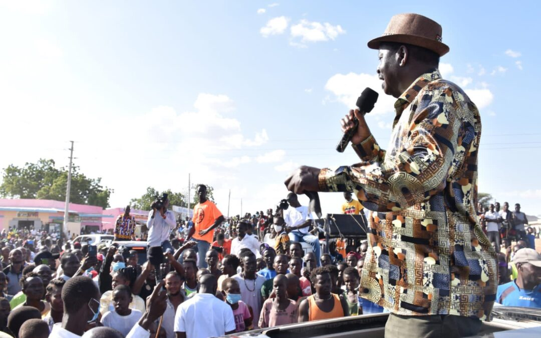 Ndiunga ya Raila Odinga nteere cia Mount Kenya East.